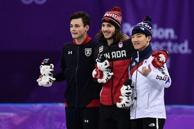 Канадец Жирар завоевал олимпийское золото в шорт-треке на дистанции 1000 м