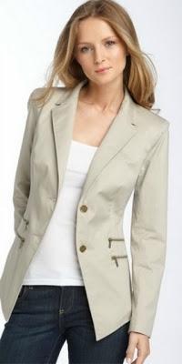 Шьём лёгкий женский пиджак
