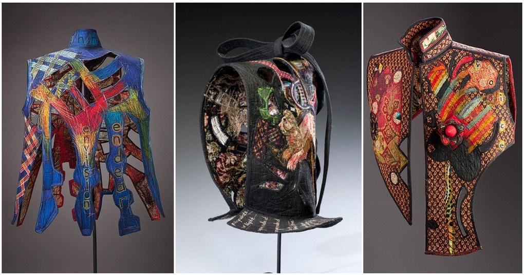 Арт-текстиль от Кей Хан — креатив, возведенный в ранг искусства