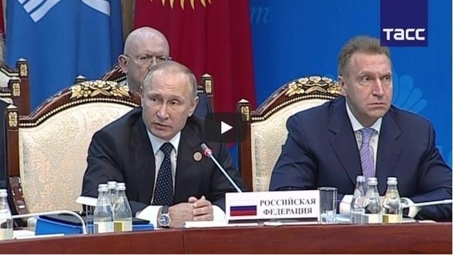Путин поставил на место зака…