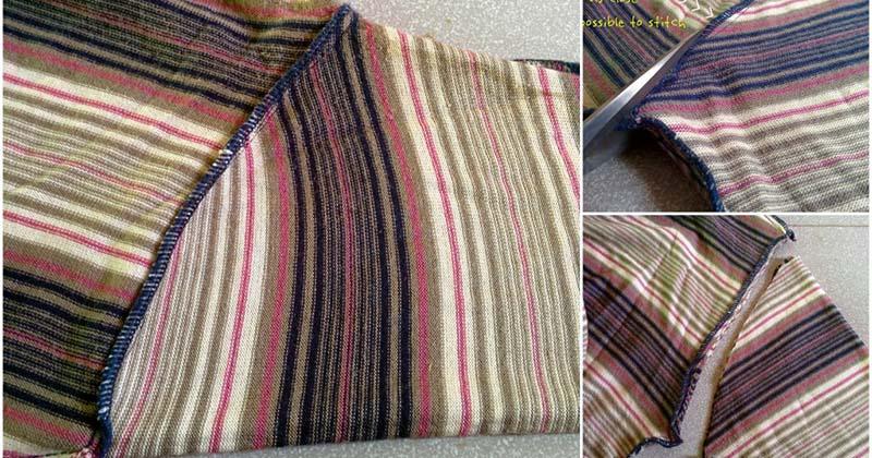 Возьмите старый свитер и превратите его в элегантный элемент интерьера