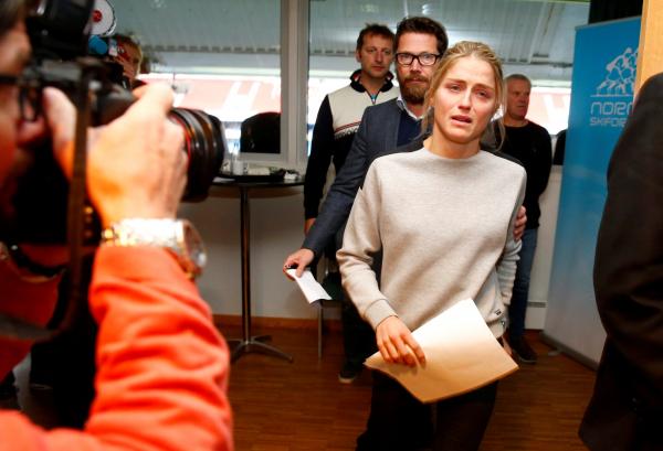 """""""Удивительно порядочный человек"""" - в Осло объяснили провал допинг-теста чемпионкой"""