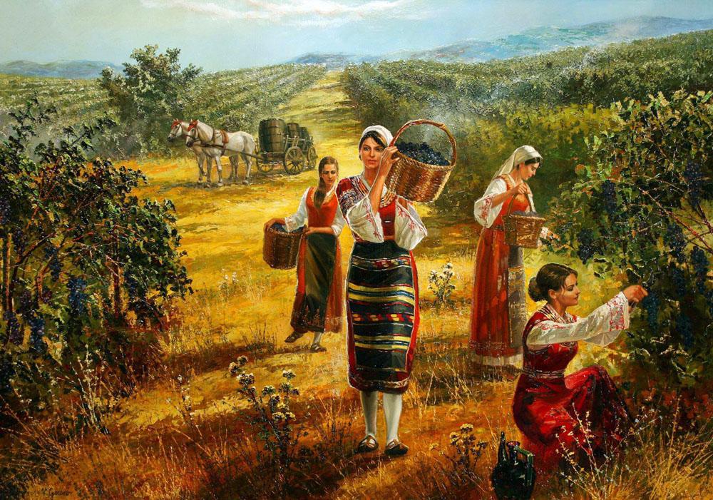 Болгарский художник Васил Горанов