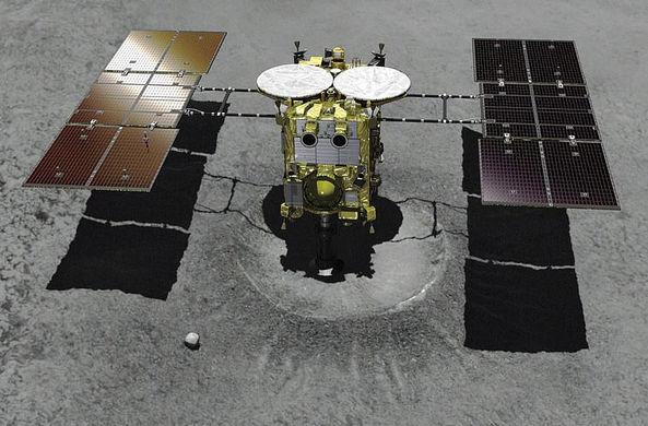 Японский зонд приземлился на астероид Рюгу