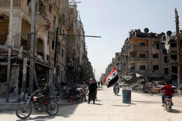В Сирии за прошедшие сутки более 1,2 тысяч граждан вернулись в свои дома