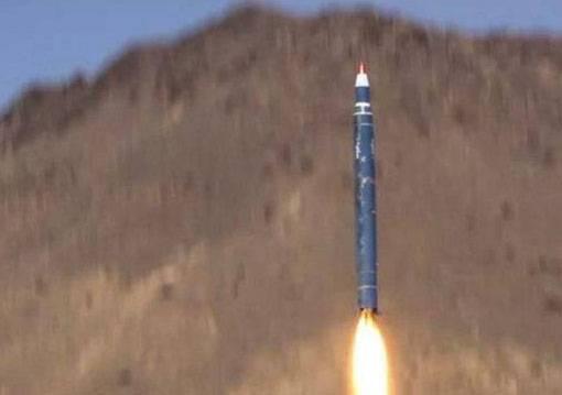 Ракетный удар по территории Саудовской Аравии
