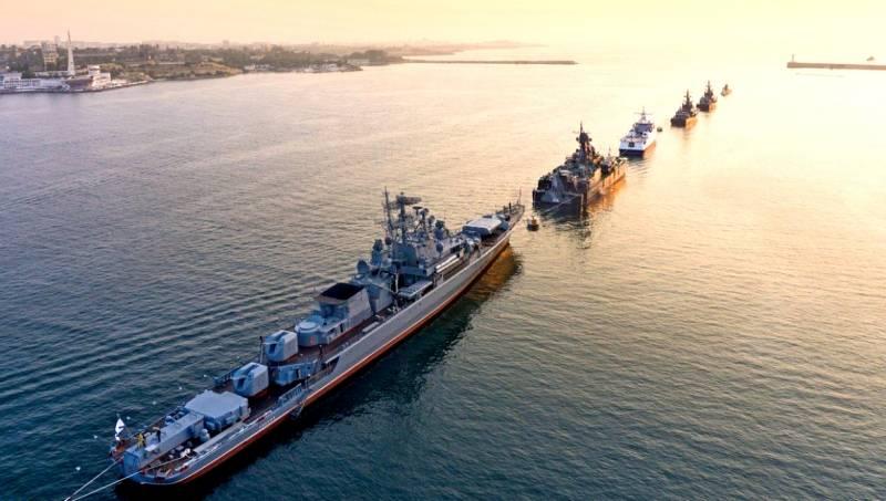 Российский флот в Сирии выстраивается в боевой порядок