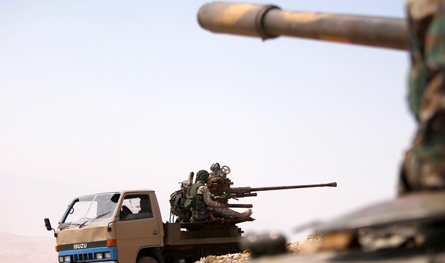 В Сирии неизвестные обстреляли автобус с российскими журналистами