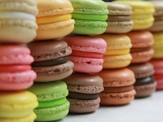 Французские пирожные «Макаруны»