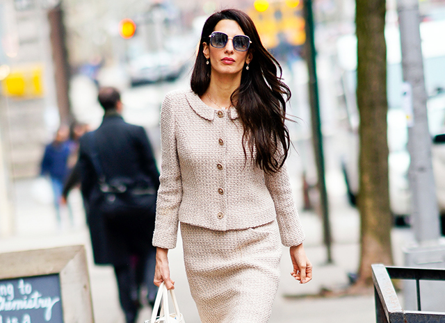 Сила и женственность: 7 секретов идеального делового стиля от Амаль Клуни