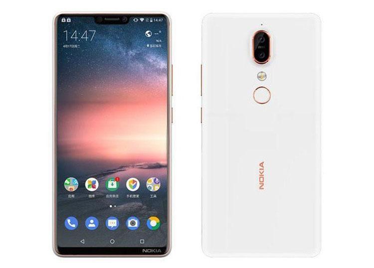 Опубликованы рендеры и характеристики смартфона Nokia X6 с челкой