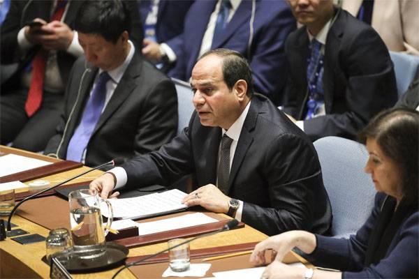 Ас-Сиси: Террористы из Сирии и Ирака могут перебраться в Египет