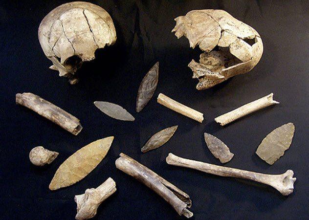 Шокирующие находки археологов и полицейских