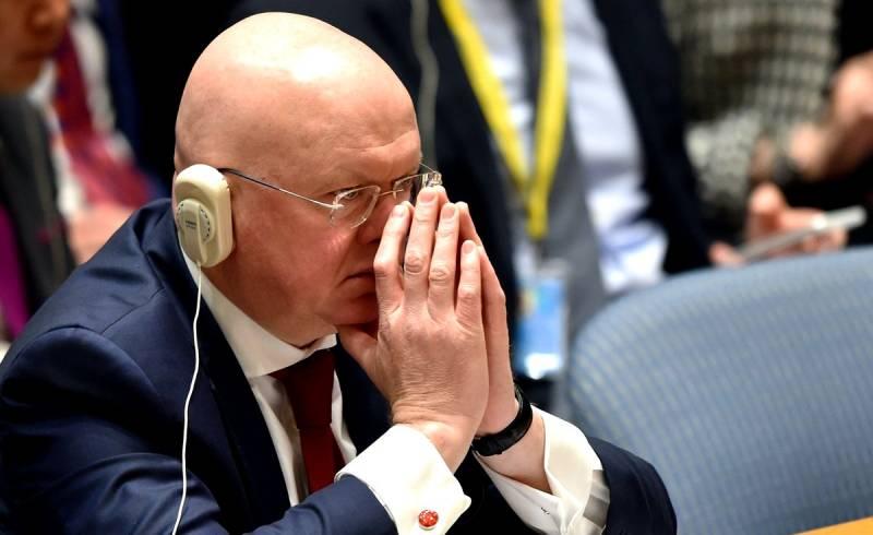 Российское вето в ООН: Запад…