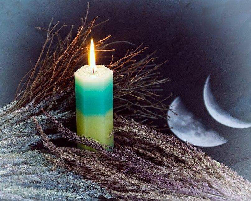 Работа с энергией свечи…