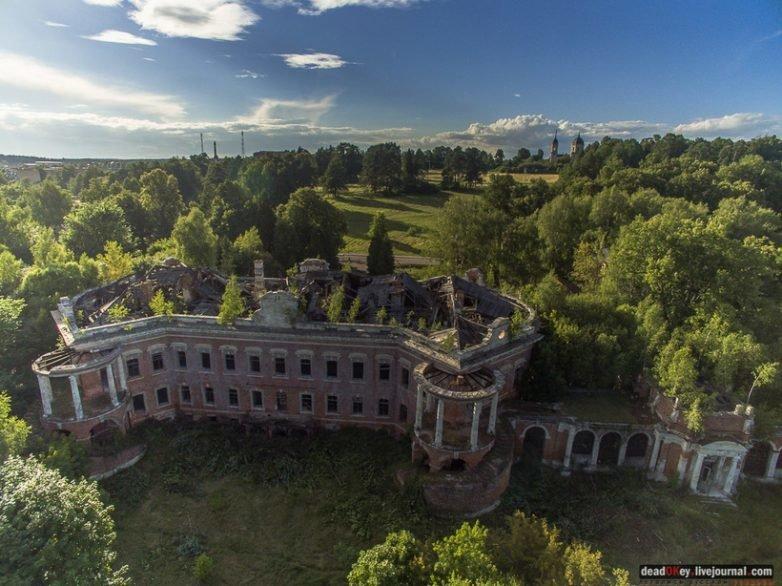 Усадьба Семёновское-Отрада архитектура, заброшенные усадьбы, имения, путешествия, россия, туризм