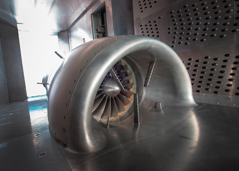 NASA рассказало об испытании вентилятора для «утопленных» двигателей