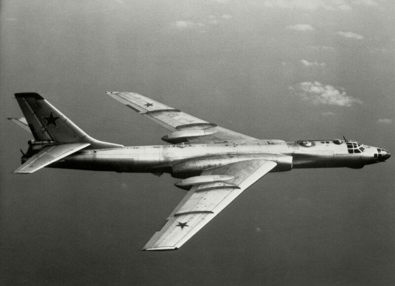 Секретная миссия Ту-16А  26-го апреля 1958 года
