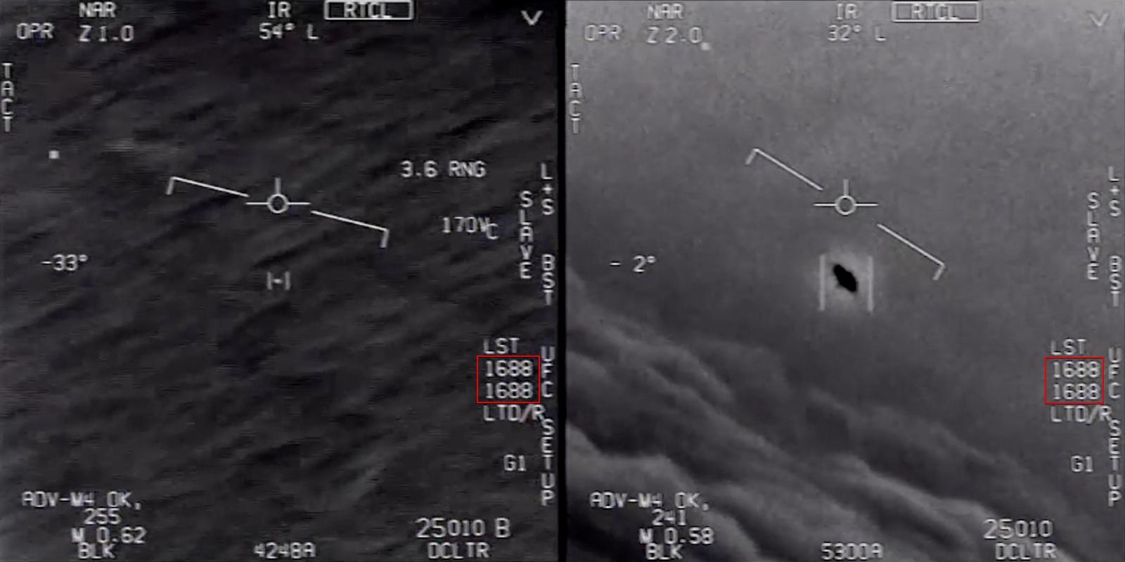 ВМС США подтвердили подлинность видео с неопознанным летающим объектом