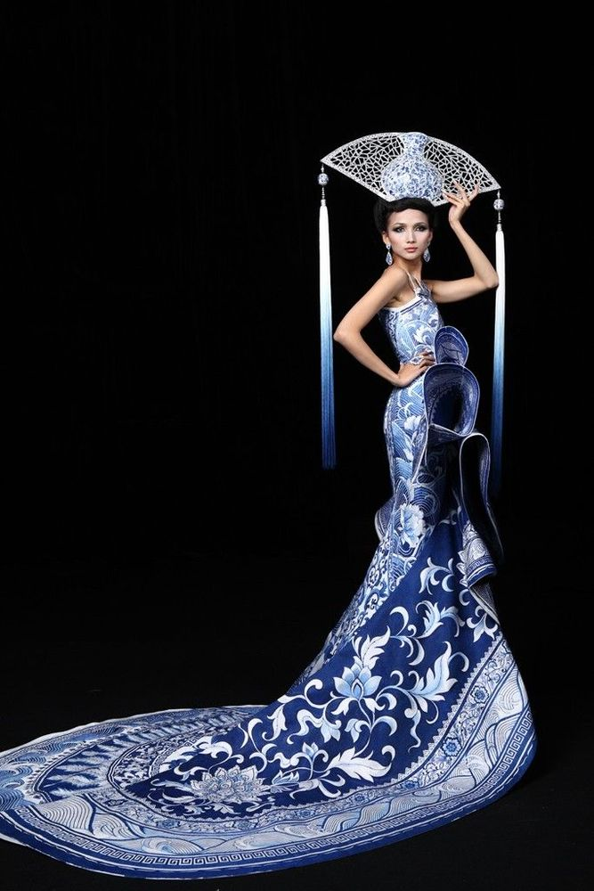 Cказочные наряды дизайнера Guo Pei