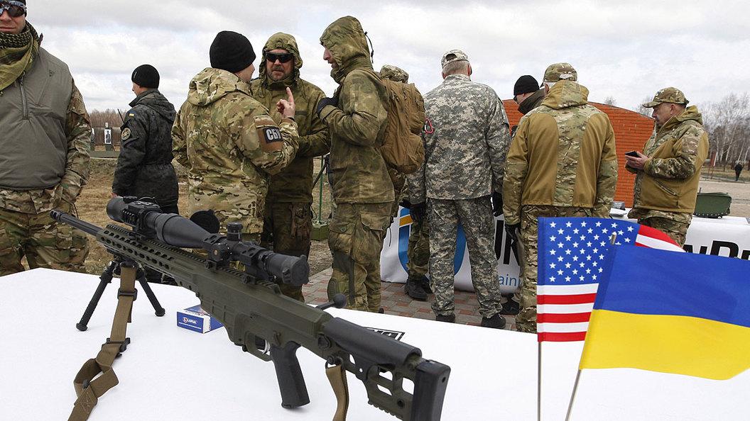 Украина рвётся снабдить Донбасс оружием США