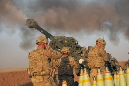 HRW призвала США отказаться отприменения боевого фосфора вИраке иСирии