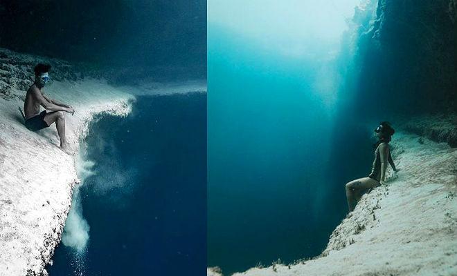 Подводные озера океанов