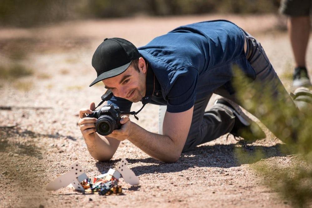 Американские ученые создали «пустынного» робота C-Turtle