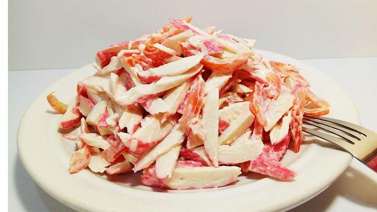 Салат Красное Море - Не Реально Вкусный Салат за 5 Минут