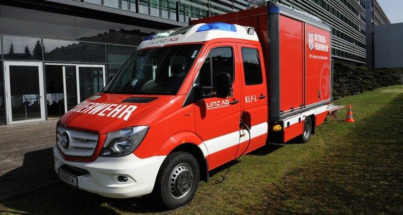 Австрийцы сделали пожарный электромобиль