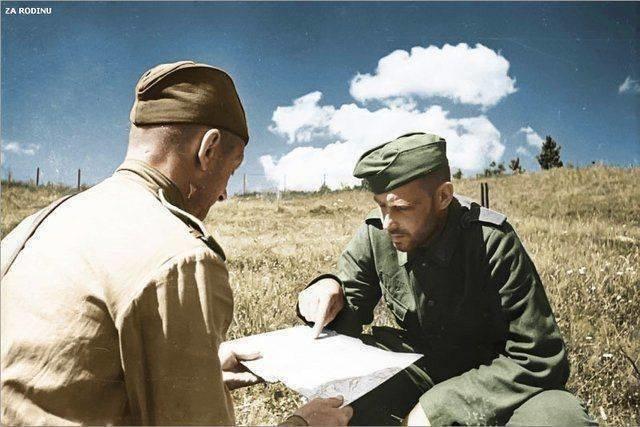 Ожившие фото войны СССР, война, история