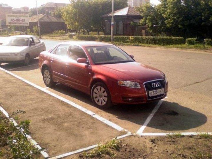 Я паркуюсь, как хочу! Дураки на российских дорогах
