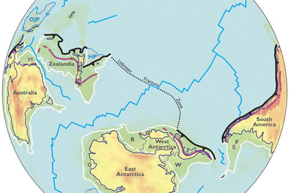 Ученые обнаружили в Тихом океане новый континент