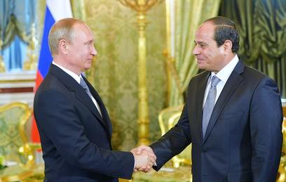Путин и ас-Сиси обсудили возобновление авиасообщения