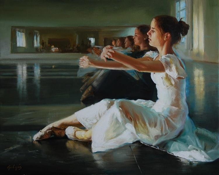 Художник Laszlo Gulyas. В традициях старых мастеров