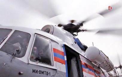 Названы версии крушения вертолета Ми-8 МЧС России в Подмосковье