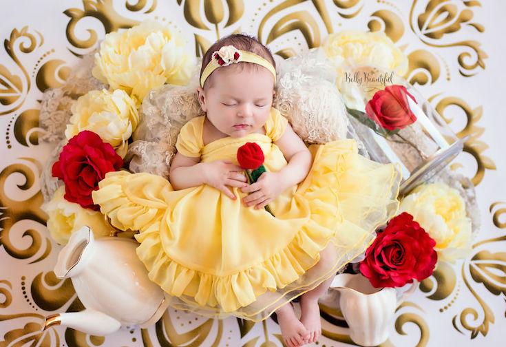 Очаровательные крошки в образах Диснеевских принцесс