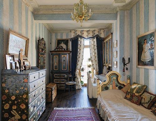 Дом Анастасии Немоляевой в стиле русской дворянской усадьбы