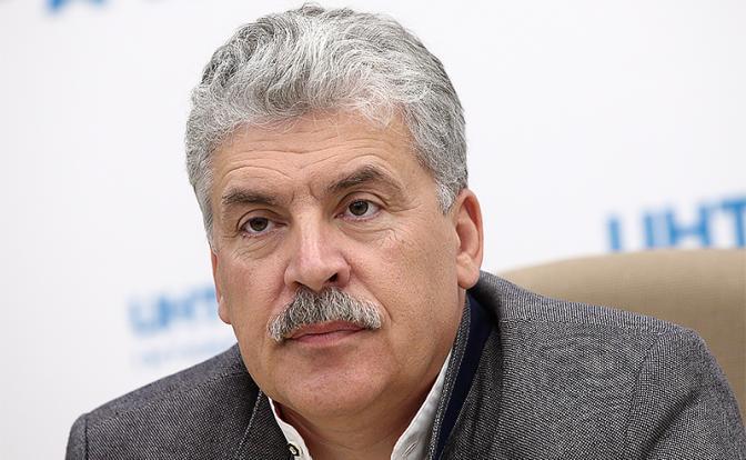 Кандидат №2 в Госдуме: Грудинин у стариков пенсии бы не забрал