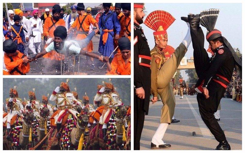 Театральность и нелепость индийской армии