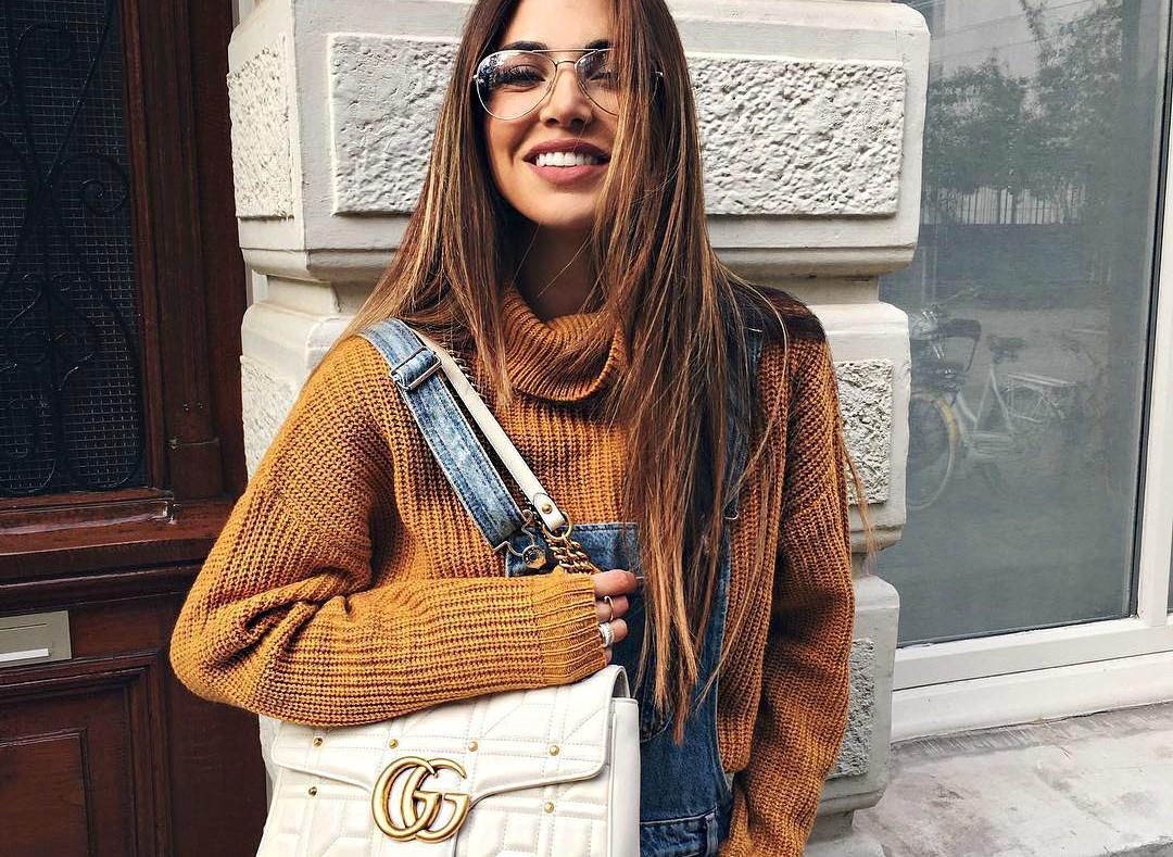 5 идей, как стильно обыграть образ с объемным свитером.