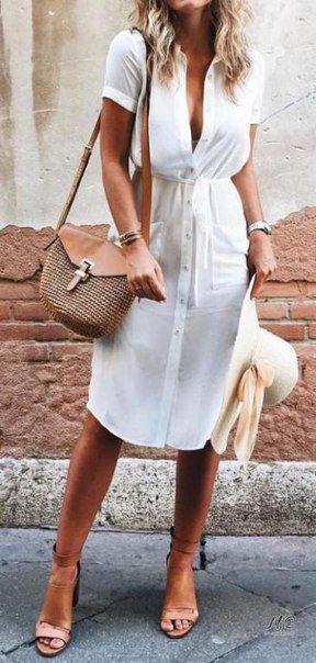 Актуальные платья-рубашки этого лета. Должно быть в гардеробе у каждой из нас!