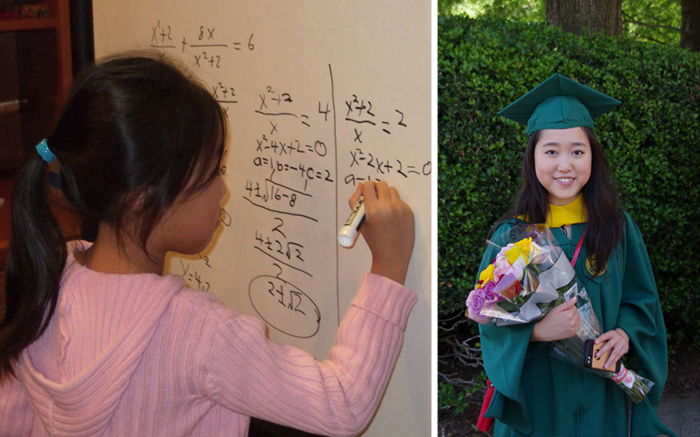 Гений математики: 17-летняя девочка заканчивает одновременно и школу, и университет