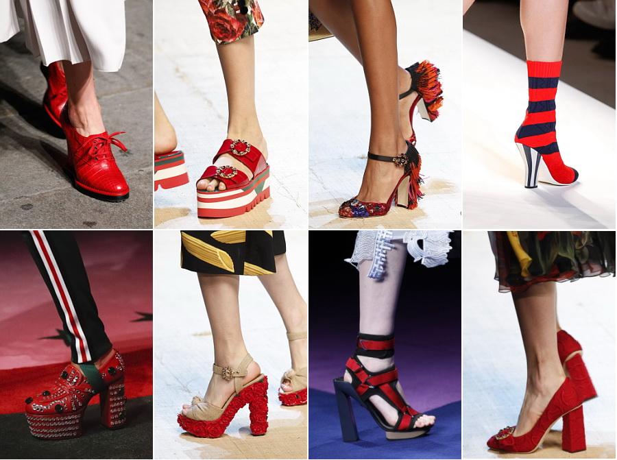 Самые модные туфли на летои весну 2017