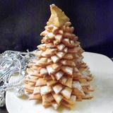 Печенье в виде «Ёлочки новогодней» очень вкусное песочное тесто.