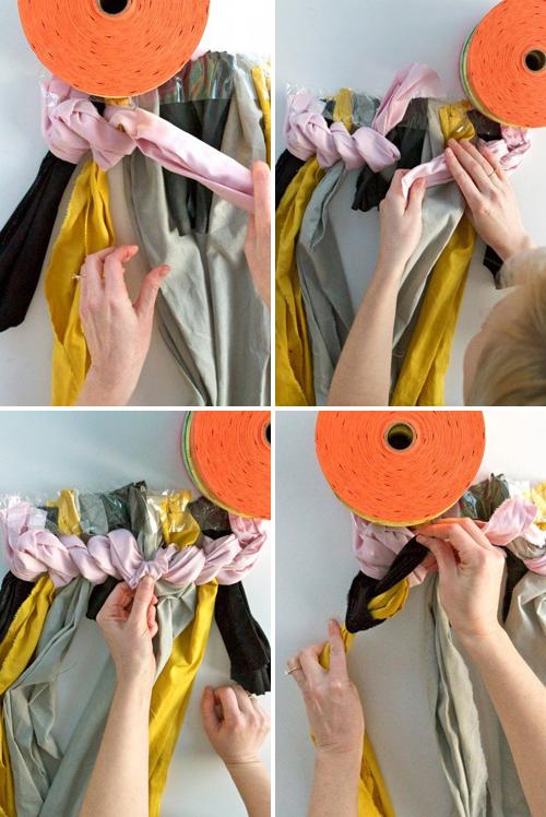мастер-класс коврик своими руками из ткани