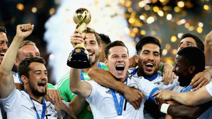 Сборная Германии выиграла Кубок конфедераций из-за досадной ошибки Чили
