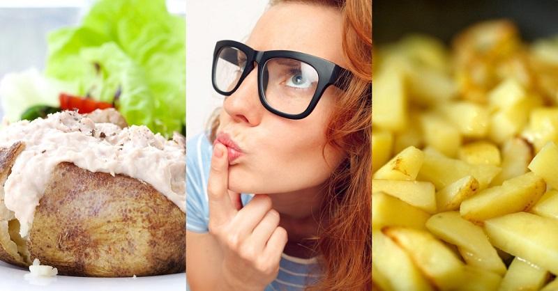 польза картофеля в мундире