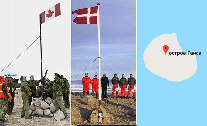 Интеллигентная война: Как Дания и Канада вот уже 30 лет «сражаются» за остров