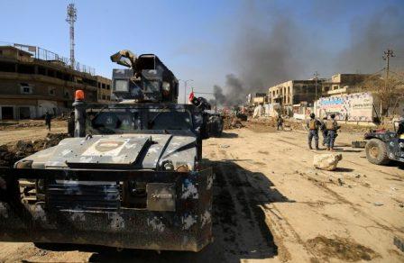 Иракская армия продвинулась …